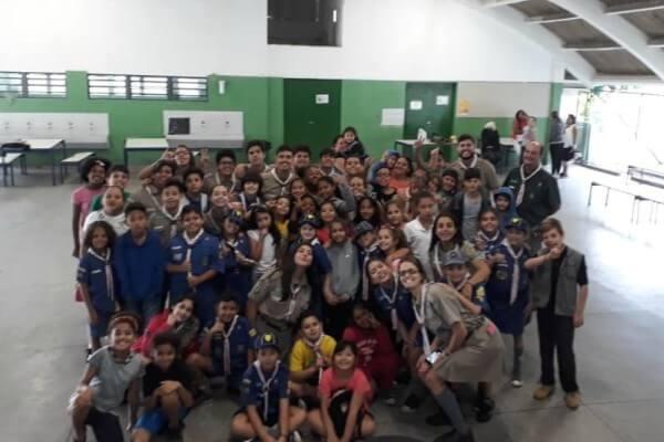Escola na Vila Carrão recebe o 2º EducAÇÃO Escoteira
