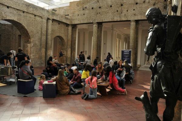 Durante as férias de julho, Pinacoteca promove edição do PinaFamília