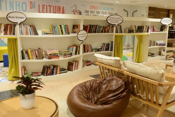 Shopping Anália Franco inaugura cantinho da leitura